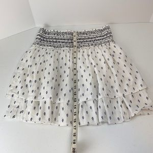 Abercrombie & Fitch elastic waist tiered skirt